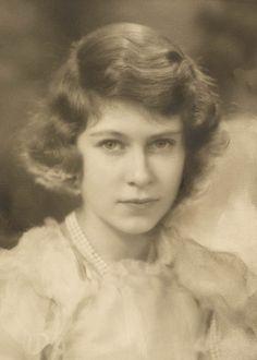 HRH The Princess Elizabeth, afterwards Queen Elizabeth II