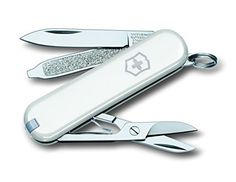 Purchase the brilliant Victorinox Classic SD Swiss Army Pocket Tool - White by V/NOX online today. This sought after item is currently available - buy securely on Camping For Family today.
