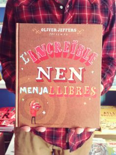 L'increïble nen menjallibres. Oliver Jeffers. Andana editorial.