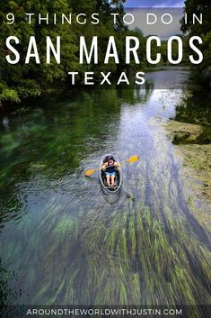 9 Adventurous Things To Do In San Marcos TX - Around The World with JustinAround the World with Justin Texas Vacations, Vacation Trips, Vacation Spots, Day Trips, Family Vacations, Cruise Vacation, Disney Cruise, Family Travel, Cool Places To Visit