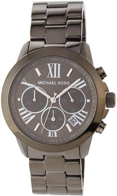 MICHAEL Michael Kors Jet Set 40mm Chronograph Bracelet Watch Black #watches #womens