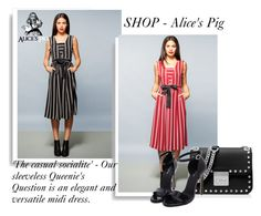 """""""SHOP - Alice's Pig"""" by ladymargaret ❤ liked on Polyvore featuring MICHAEL Michael Kors"""