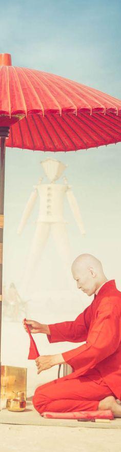 Japanese Tea Ceremony at Burning Man - photo from #treyratcliff Trey Ratcliff at http://www.StuckInCustoms.com