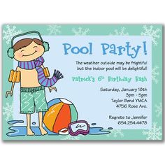 Indoor Pool Party Ideas splish splash If Brooke Had A Pool Party For Her Birthday