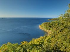 Peninsula State Park is just under 4,000 acres in Door County. There are trails through the forest, as well as nice trails along the 8 miles of shoreline. 9462 Shore Rd, Fish Creek, WI 54212.