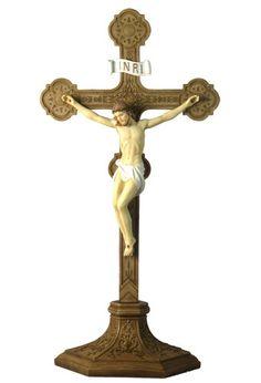 Unicorn Studio Veronese Design Religious Standing Crucifix Cross Jesus Christ