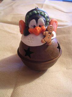 Polymer clay ornament -Claykeepsakes