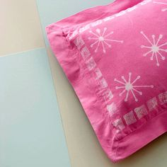 Creative Pillow Designs Using Bleach