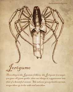 Jorogumo....Japanese folklore