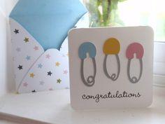 Baby Congratulations enclosure card