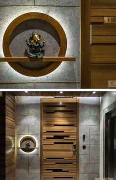 House Main Door Design, Flush Door Design, Wooden Front Door Design, Main Entrance Door Design, Home Entrance Decor, Pooja Room Door Design, Door Design Interior, Foyer Design, Entrance Doors