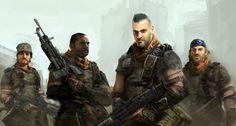 Killzone 2 ISA crew
