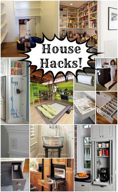LOVE Life Hacks? Well here are some amazing HOUSE HACKS!!! One is better than the next!
