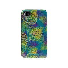 Pretty Peacock iPhone 4 / 4S