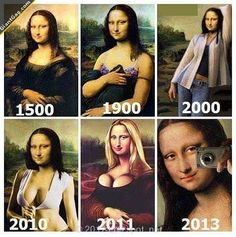 If Mona Lisa Was Alive Today,  Click the link to view today's funniest pictures!