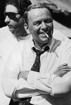 "Terry O'Neill | Frank Sinatra Cigarette Smile American singer and actor Frank Sinatra on set during the making of 'The Lady in Cement' in Miami, 1968. Limited Edition Silver Gelatin Signed and Numbered 12"" x 16"" / 16"" x 20"" 20"" x 24"" / 20"" x 30"" 24"" x 34"" / 30"" x 40"" 40"" x 60"" / 48"" x 72"" For questions or prices please contact us at info@igifa.com"