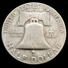 1952 Denver Franklin Silver Half Dollar