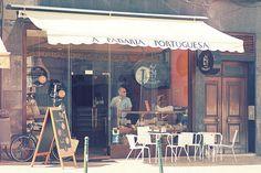 Café in Portugal  Shot for Marble Blue Travelguides by Robert Goesch www.marbleblue.de  #travel #travelguide #reise #reisen #backpacking #vintage #photography #marbleblue