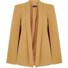 Miss Selfridge Cape Sleeve Jacket
