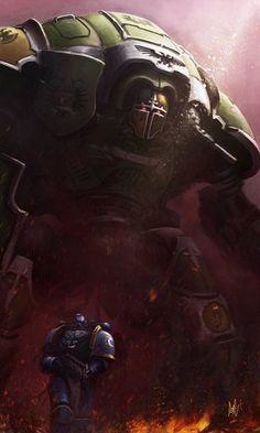 Warhammer 40K awesome.