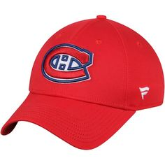 0b78f2de9f7 Men s Montreal Canadiens Fanatics Branded Red Elevated Core Structured - Adjustable  Hat