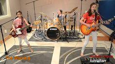 "Enter Sandman - METALLICA Cover - The Warning | https://youtu.be/1boUYB9LFJY | ""Visit our new webpage !! http://thewarningband.com/ Daniela - Guitar - 14 yrs old; Paulina - Drums - 12 yrs old; Alejandra - Bass Guitar - 9 yrs old"""