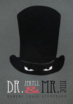 Redesigned book cover for Dr. Jekyll and Mr. Hyde