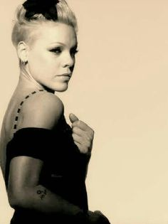 P!nk  I think she is gorgeous!