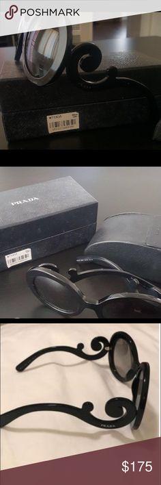 db6d008e706 New Prada Oversized Baroque Sunglasses New Prada 27ns Sunglasses. Willing  to negotiate price. Prada
