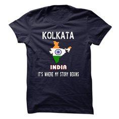 KOLKATA - Its where my story begins! - #mothers day gift #husband gift. GET => https://www.sunfrog.com/No-Category/KOLKATA--Its-where-my-story-begins.html?68278
