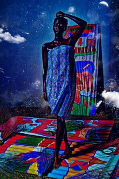 Hauntingly beautiful #art by Paul Sika. Read an interview with the Ivorian artist on Afri-love: www.afri-love.com/2013/05/interview-with-fine-art-photographer-paul-sika.html
