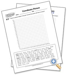 COORDINATE GRAPHING MYSTERY PICTURE [MARIO