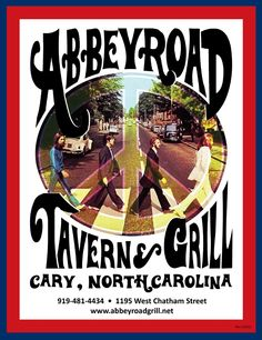 ABBEY ROAD GRILL, Cary, NC