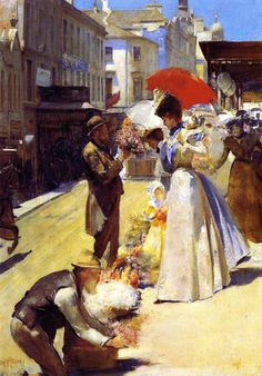 Christmas Flowers and Christmas Belles by Tom Roberts