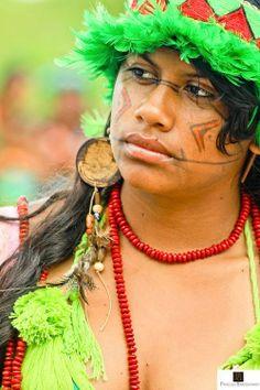 Beleza indígena brasileira 20.