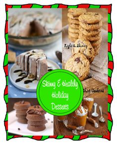 skinny & healthy holiday desserts