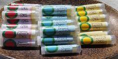 Organic Lip Balms by onlynatcheryl on Etsy https://www.etsy.com/listing/84147025/organic-lip-balms
