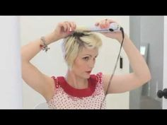 retro faux hawk hair tutorial by Whippy Cake. Ah! So cute! I am so doing this to my pixie :)