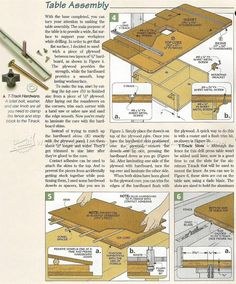 #491 Drill Press Table Plans - Drill Press Tips, Jigs and Fixtures