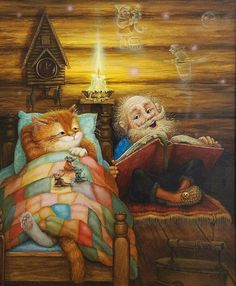 The Storyteller #booklovers #books #bookworms #bookart #bookillustration #bookpainting #bookdesign #bookartwork #booksworm #grandparent #oldeperson #storytelling