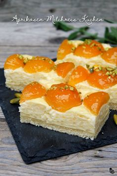 Aprikosen-Milchreis-Kuchen 1