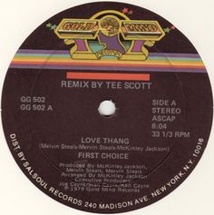FIRST CHOICE / Love Thang (1979)