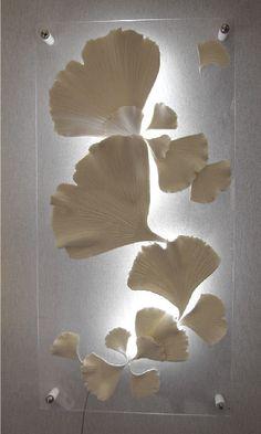 Décoration porcelaine - Oeuvre en porcelaine