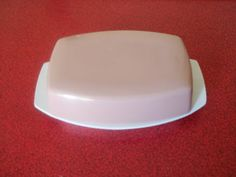 1950s 1960s Melaware butter dish in pink by BEATNICKSEMPORIUM, £15.00