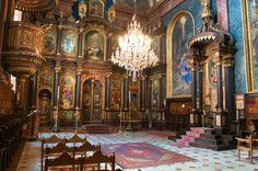 Beautiful church interior