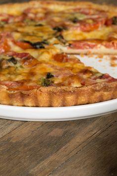 Gluten Free Tomato Tart with Rich Savory Pie Crust
