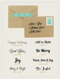 Free Christmas Script Fonts