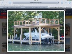 Boat House Plans