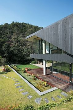Villa Topoject by AND, Korea