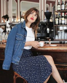 Jeanne Damas denim jacket